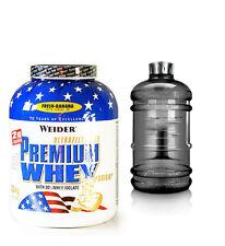 25,17€/kg Weider Premium Whey Protein Eiweiss 2,3kg Dose + BONUS GALLON