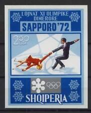 Albania 1972 Sg #ms 1500 Patinaje Mnh M/s