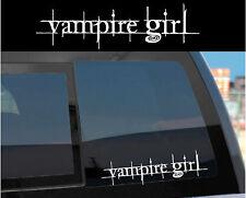 """Vampire Girl"" Sticker Decal for Twilight & Edward"
