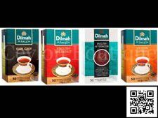 Dilmah Earl Grey, Ceylon Supreme, English Breakfast & Afternoon Ceylon Tea Bags