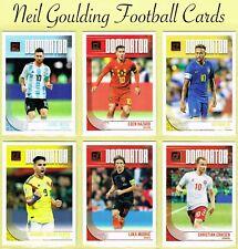 DONRUSS SOCCER 2018-2019 ☆ DOMINATOR ☆ Football Insert Cards #D-1 to #D-15