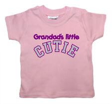 "Grandad BEBÉ CAMISETA ""grandad's Pequeño"" GRAND hija SON Abuelo"