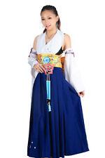 Final Fantasy X Cosplay Costume Spira Summoner Yuna 1st Version Set