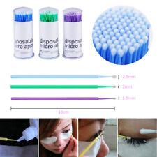 100pcs Lot Disposable Micro Swab Brush Applicator Removal for Eyelash Extension
