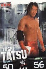 WWE Slam Attax Evolution - Yoshi Tatsu ECW Card