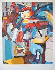 """""""La larme"""" Lithographie de Sandra JAYAT"""