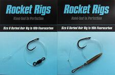 ROCKET FLUOROCARBON HAIR RIGS (5 rigs)