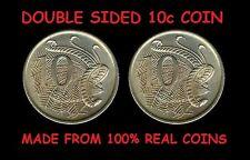 DOUBLE SIDED AUSTRALIAN 10 CENT COIN