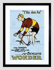 Sport bicyclead Vanhevel vainqueur paris roubaix france encadrée art imprimé B12X7775