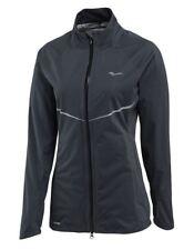 SAUCONY Razor Soft Shell Reflective Waterproof Grey Running Jacket NEW Womens S