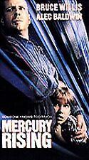 Mercury Rising (Vhs, 1998) Bruce Willis, Alec Baldwin 00006000