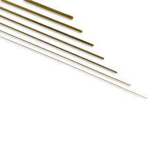 81250 Krick Messingdraht 5,0mm 1m Stab