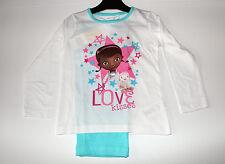 Neu Pyjama Set Schlafanzug Mädchen Disney Doc McStuffins Größe 98 104 110 116#94