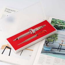 Moonman M2 Lecai Transparent High Capacity China Fountain Pen Fine Nib 0.5mm New