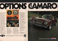 N°2248  / catalogue CHEVROLET CAMARO   1974  sport coupé / type LET /Z28