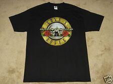 Guns N Roses Bullet Logo S, M, L, XL, 2XL, 3XL, 4XL, 5XL Black T-Shirt