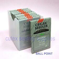100 Organ UYX128GAS / UY128GAS Ball-Point Industrial CoverStitch Machine Needles