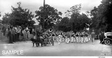 1930's Dog Cart Parade Marching Band Black Labrador