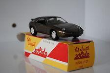 SOLIDO POUR ACHETTE PORSCHE 928 GT 1989 MINIATURE 1/43