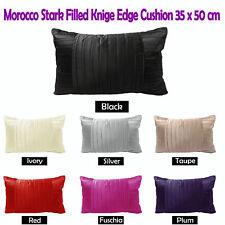 7 Colors Choice - Morocco Stark OBLONG Pleated Cushion 35cm x 50cm