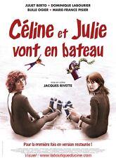 CELINE ET JULIE VONT EN BATEAU Affiche Cinéma / Movie Poster Jacques Rivette