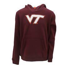 Virginia Tech Hokies Official NCAA Kids Youth Size Hooded Sweatshirt New Tags