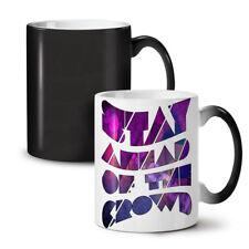 Geometric Unique Wellcoda NEW Colour Changing Tea Coffee Mug 11 oz   Wellcoda