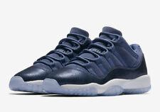 Nike Air Jordan 11 Low Retro XI GS 'Blue Moon' Midnight Navy White Size 8,8.5,9
