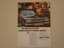 advertising Pubblicità 1969 FORD 15M 15 M