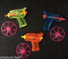 Mini Disk Throwing Plastic Gun Party Bag Filler Supplies Favours Fun Toys