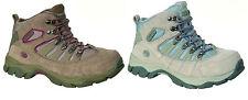 Ladies Grey/Taupe Lace Up Hi-Tec Walking Boots McKinley