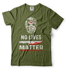 Friday 13th Jason no lives matter funny Halloween shirt Mens tee shirt