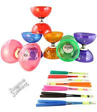 Juggle Dream Cyclone Quartz 2 diabolo & coloured superglass handsticks