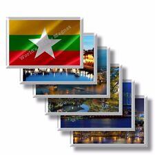 MM - Birmania - frigo calamite frigorifero souvenir magneti