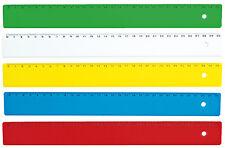 Righello Flessibile 30 Centimetri per Scuola e Ufficio - Ruler Riga Trenta cm