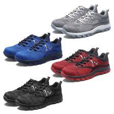 Chaussures de Sécurité Bout en Acier Bottes de Travail Respirable Hommes New 118