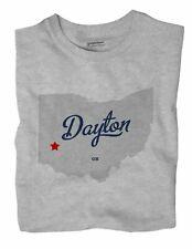 Dayton Ohio OH T-Shirt MAP