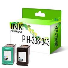 Remanufacturado Genérico Cartucho de tinta de sustitución para 338 & 343