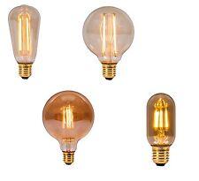 4w LED Vintage Glühlampe Glühbirne E27 Retro Filament Fadenlampe 2000k Lampe