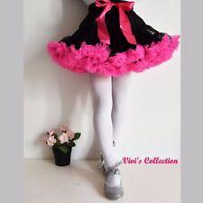 Chicas Bailarina Ballet Pettiskirt Tutu Falda Baile Fiesta Navidad Vestido Tul