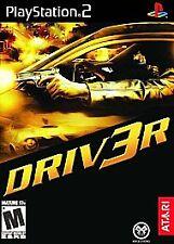 DRIV3R DRIVER 3 --- PLAYSTATION 2 PS2