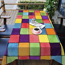 3D Gitter Box Tischdecke Tischdecke Tuch Geburtstagsfeier AJ WALLPAPER DE Lemon