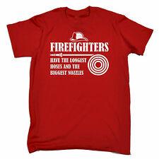 Les pompiers plus longue manches T-Shirt Homme Tee-Shirt Cadeau D'Anniversaire Pompier adulte coquin