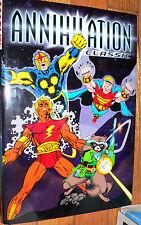 Marvel  Annihilation Classic     hardcover Warlock Nova Thanos Quasar Star-Lord