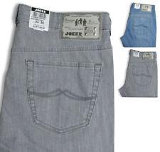 JOKER Herren Jeans CLARK Farbwahl Sommer Denim Premium Light blau + grau