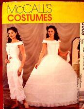 McCall 3609 Misses Civil War Camisole Pantaloons Corset & Hoop Petticoat Pattern