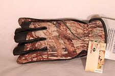 Mossy Oak Duck Blind Camo Lightweight Hunting Gloves for Men choose size