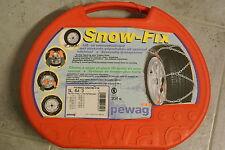 PEWAG schneeketten SNOW-FIX  SL 64 3  in Tragebox neu