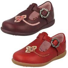 Pourpre De Filles cuir lanière en T Boucle STARTRITE Chaussures TALLULAH