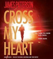 CROSS MY HEART Alex Cross unabridged audio book CD by JAMES PATTERSON Brand New!